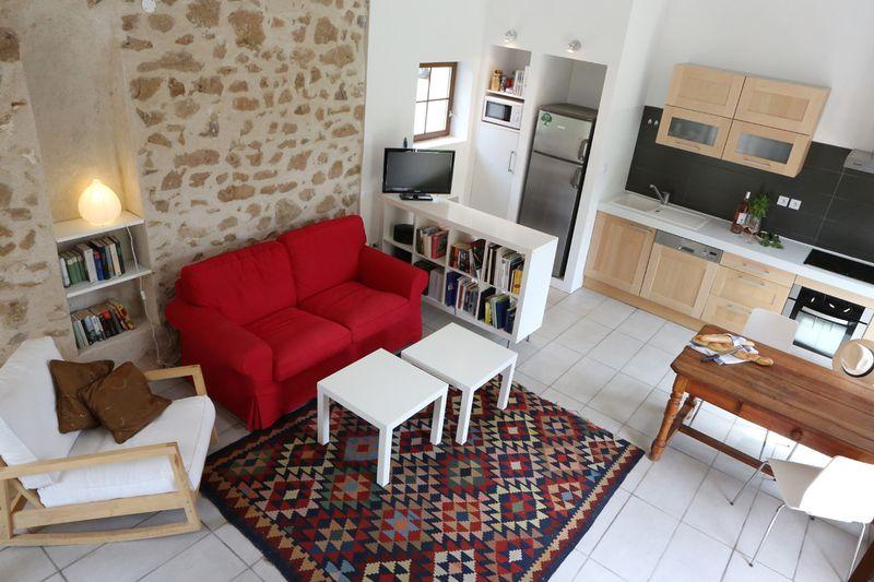 Turmhaus_Wohnzimmer von Treppe